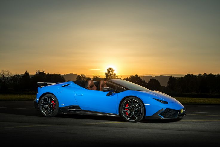 O.CT Tuning have made the Lamborghini Huracan Spyder LP610-4 more powerful than the new Aventador S.