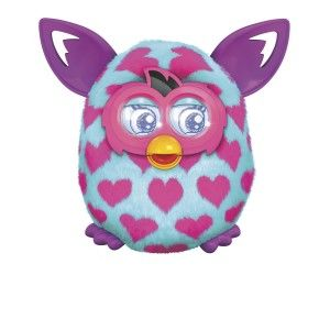Furby Boom Pink Hearts Plush Toy Furby Boom Plush Toy Pink Hearts