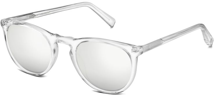 """Warby Parker is offering its very first Snapchat-exclusive product — limited sunglasses that are only available for purchase to its Snapchat followers. The eyeglass retailer said it just shared a Snapchat story with its followers with a unique URL where, for a limited time, they can buy """"head-turning Haskell in Crystal, now with new silver mirrored lenses"""" for $95."""