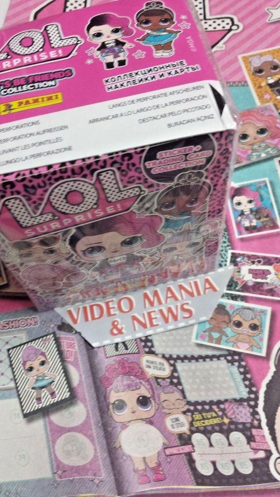 LOL L.O.L Surprise Let/'s Be Friends 20 Bustine Promo Figurine Cards Panini