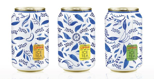 Packaging / Free Flavour » Lipton Iced Tea packaging Concept