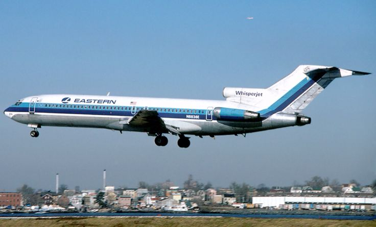 Eastern Airlines 727 1978 JFK to MLB
