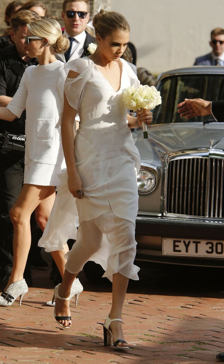 Cara at St.Paul Church for Poppy Delevingne's wedding - 16/05/2014