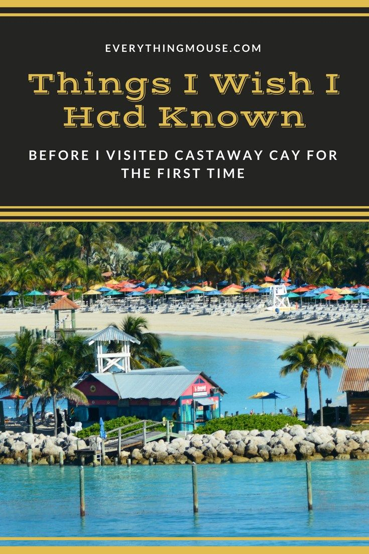 Disney Cruise Tips. Disney Castaway Cay - what you really need to know