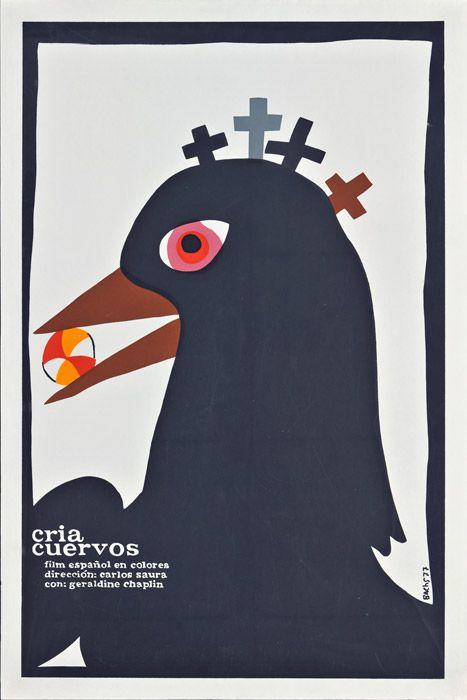 Cria cuervos (Carlos Saura, 1976) Cuban design by Eduardo Muñoz Bachs