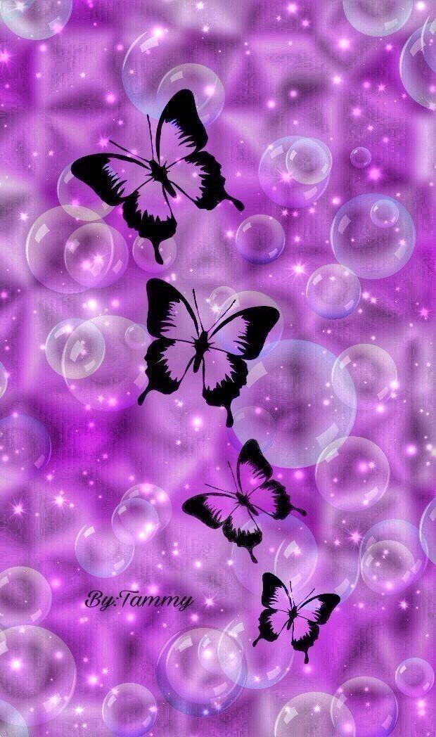 442 Best Wallpapers Butterflies Flowers Neon Images On