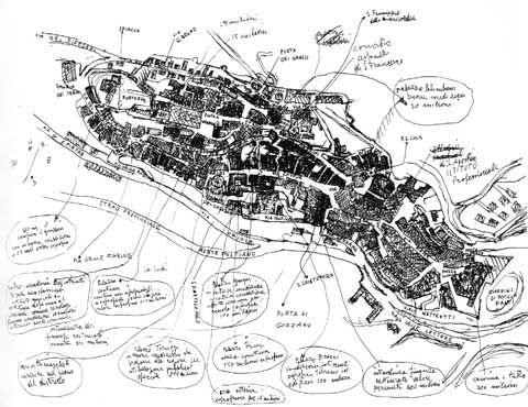 Piano Regolatore Particolareggiato  Montepulciano 1975 Urbanistica realizzato
