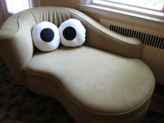 finally, i can make any piece of furniture look like a muppet.  i crack up every time i look at it!