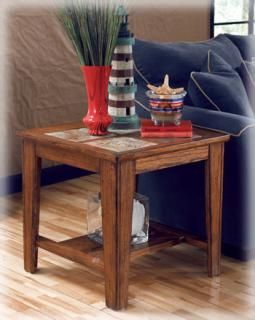 Ashley Furniture Signature Design Toscana End Table at Big Sandy Superstore