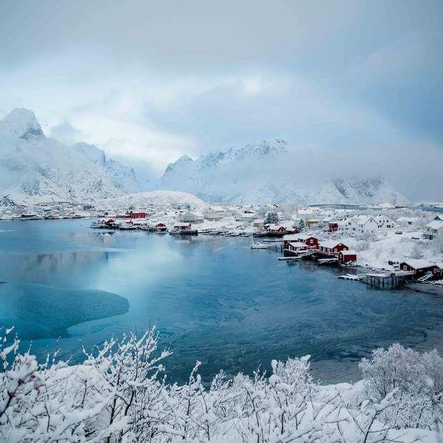 La ville de Reine dans les îles Lofoten, en Norvège, par Cathy Marion / Communauté GEORetrouvez d'autres…