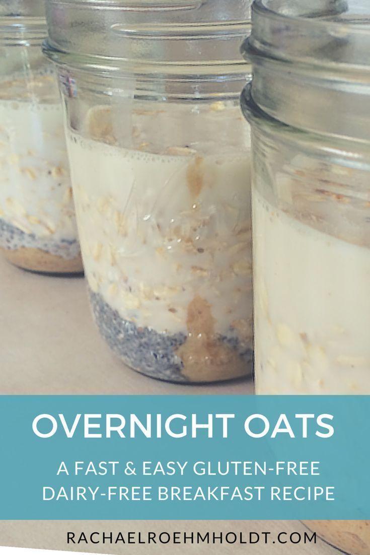 Overnight Oats | http://RachaelRoehmholdt.com