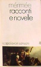 "Da Merimee, Racconti e novelle,  ""La Carmen"" (1845)."