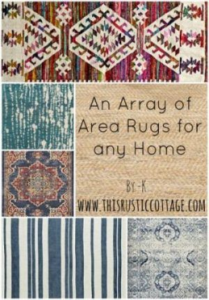 Area Rugs This Rustic Cottage