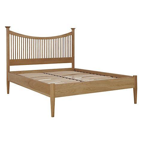 £699 Buy John Lewis Essence Low End Bed, Oak, King Size Online at johnlewis.com