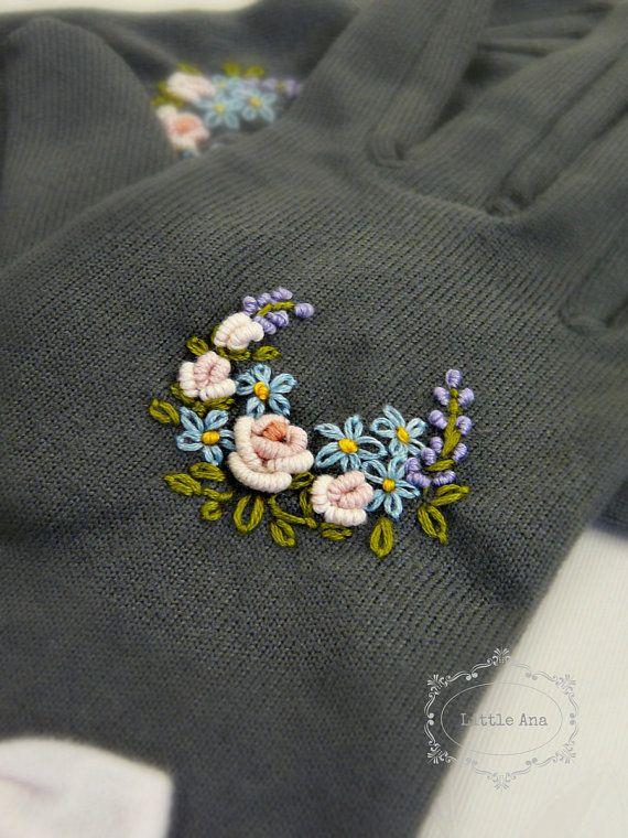 REZERVED Romantic gloves fingers от LittleAnaAccessories на Etsy
