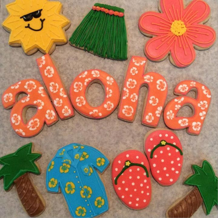 100 Best Images About Luau, Tropical Cookies, Cakes, Ideas