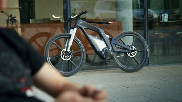 nota bene: published 2013 - pretty amazing !   Audi e-bike - A bicycle that runs at 80 kmph HD
