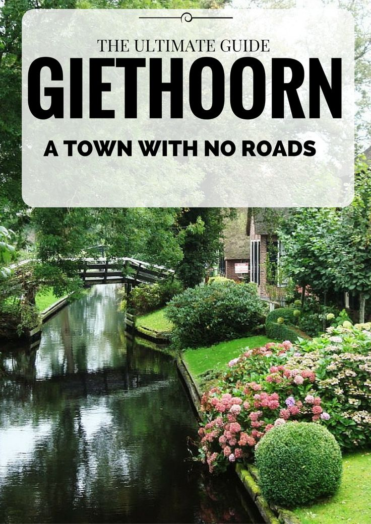 Planning to go to the Netherlands? Don't miss this little gem Giethoorn is a magical town with no roads. This is probably one of the most adorable and cutest towns you will ever see (and hopefully visit one day). It has such simple beauty that it hardly seems real – small canals, amazing thatched-roof farmhouses and perfectly manicured gardens. If this has not convinced you yet, then keep on reading for more reasons why you should visit this lovely town.