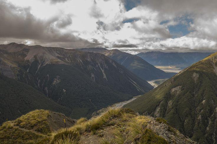 Avalanche Peak - Foto-Locations in Neuseeland