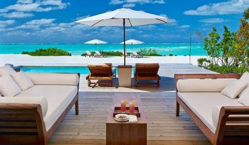Beach House at Parrot Cay, Turks and Caicos Villa