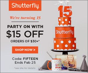 Shutterfly Discount Code Expires 2/25 http://www.heartofaphilanthropist.com/blog-stuff/super-sale-and-discount-codes-for-shutterfly-print-photos-and-make-personalized-gifts