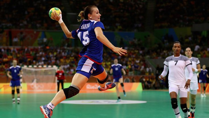 Russia's women's handball team won their first Olympic gold, overcoming France…