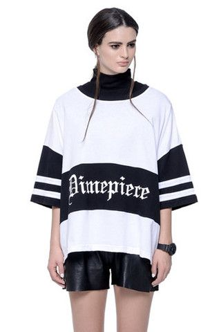 Oversized tee from Dimepiece LA, available on AZTRAL now!!