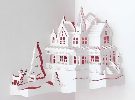 Origamic Architecture pop-up cards World Famous Buildings
