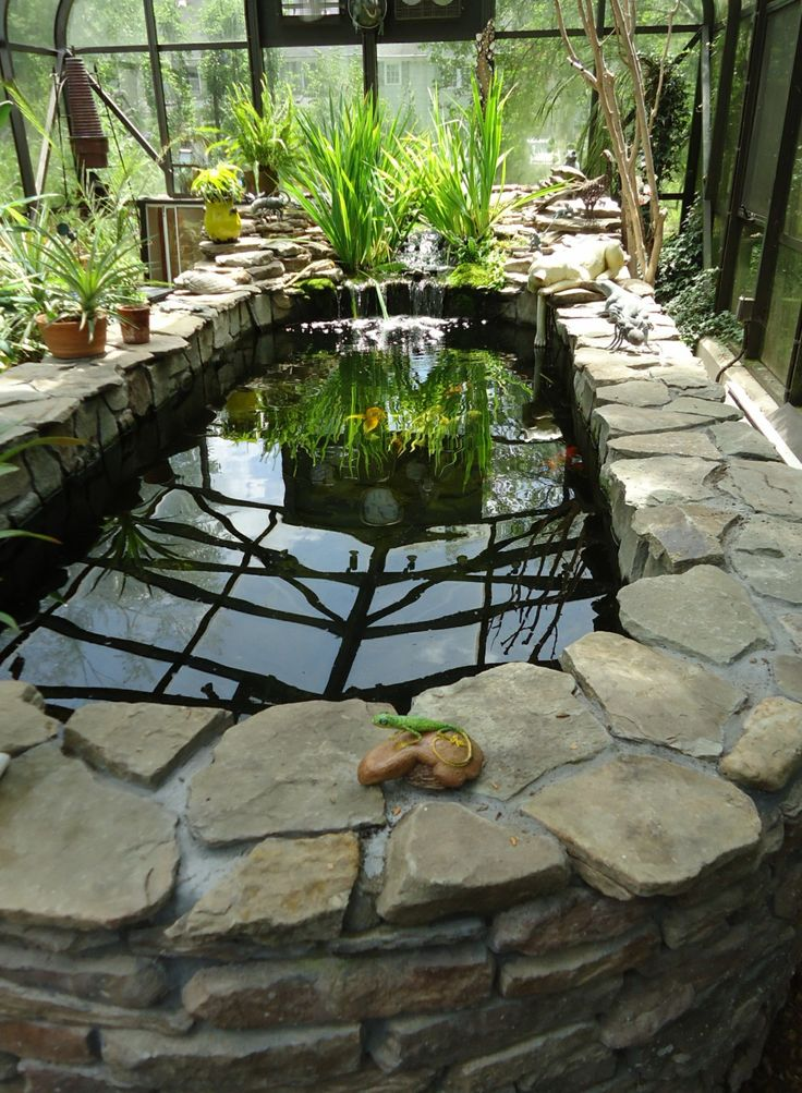 25 best ideas about indoor pond on pinterest lily com for Koi pond in house