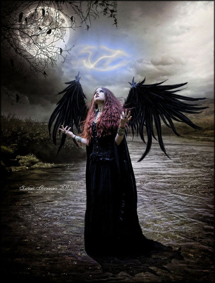 картинки готика ангелы разрешен
