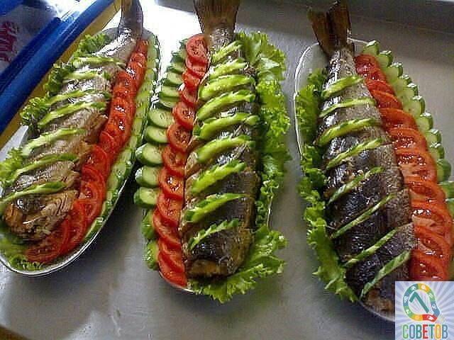 Как красиво оформить рыбные закуски!. Обсуждение на LiveInternet - Российский Сервис Онлайн-Дневников