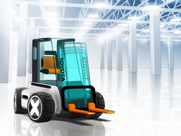 111 best warehouse cleaning tech images on pinterest fork lift air lift the strictly minimalist design of the airlift concept gives the impression that this fandeluxe Images
