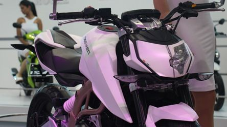 TVS Draken and Graphite concepts presented at Auto Expo 2014