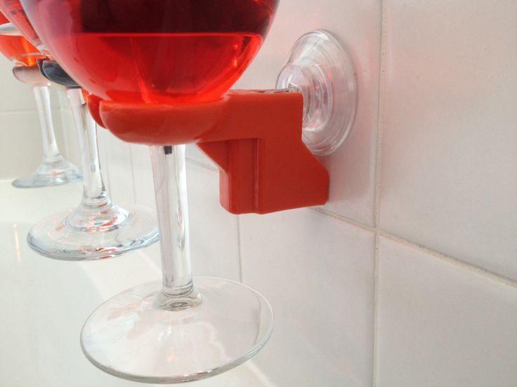 Bathtub shower wine glass holder   pick your color   Translucent colors now  available   3d. 17 Best ideas about Bathtub Wine Glass Holder on Pinterest
