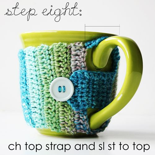 Life Made Creations: Crochet Mug Cozy