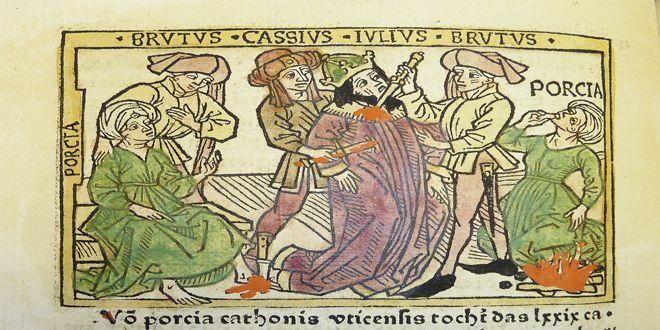 La muerte de Julio César no fue como te contaron.