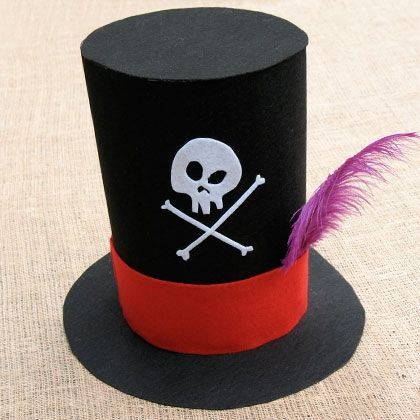 Dastardly Disguises - Dr. Facilier's Hat A tip of the hat from Dr. Facilier! Your guests will clamor to don the devilish voodoo master's chapeau.   Follow link herein for complete instructions.