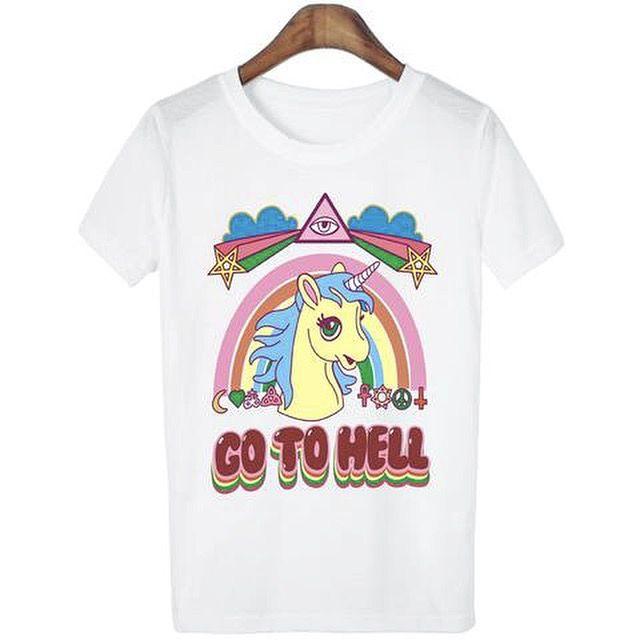 Unicorn Go To Hell Tee
