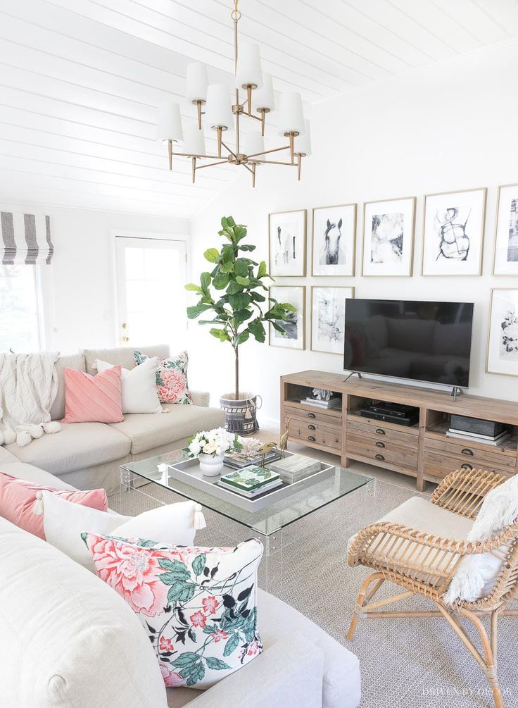 My Six Favorite Finds From Drew Barrymore S New Flower Home Line Driven By Decor Family Room Living Room Designs Home Decor