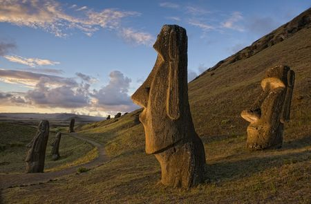 Moai of Easter Island Photo by Jim Richardson — National Geographic Your Shot