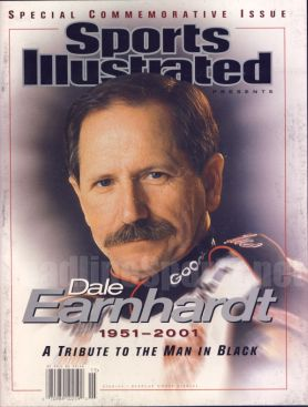 2001 Dale Earnhardt Sr. Tribute Nascar Commemorative SI...............have this one......i have lots of nascar stuff for sale