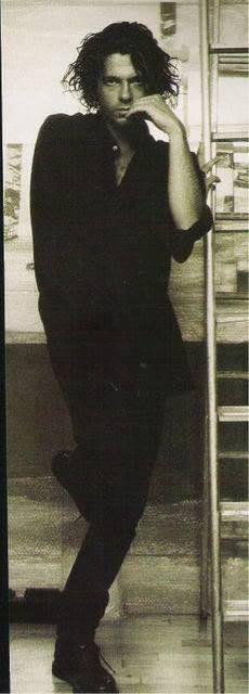 Michael Hutchence. He was very beautiful.