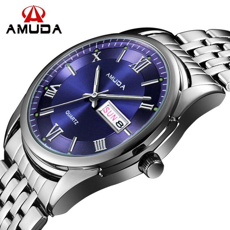 AMUDA Watches Men  Luxury Brand Men Military Wrist Watches Full Steel Men Sports Watch Waterproof Relogio Masculino-in Quartz Watches from Watches on Aliexpress.com | Alibaba Group
