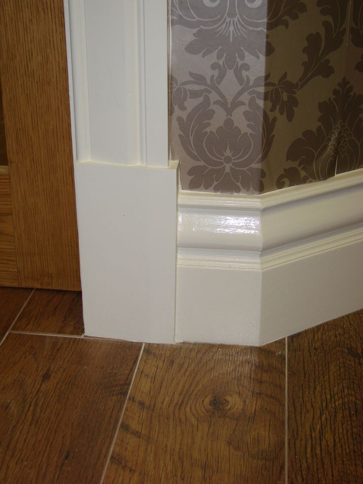 """Fenton"" Skirting Block   Made by Period Mouldings  www.periodmouldings.co.uk"