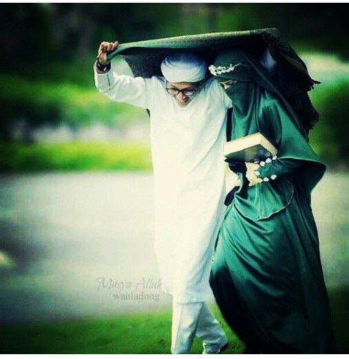 One day inshallah I shall be your shelter from all kinds of storms.