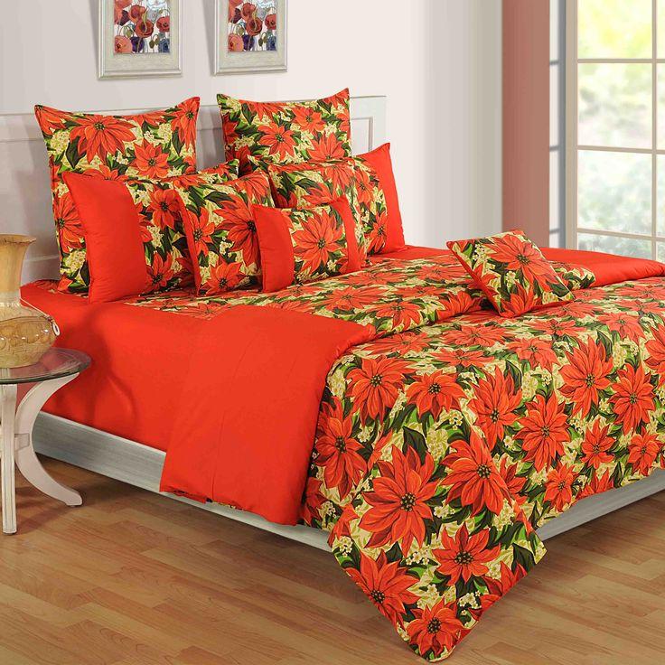 """Colors of Paradise """" ORANGE FIELDS """"   Buy @ inhoma24.de #inhoma #Bettwäsche #LuxusBettwäsche #DesignerBettwäsche #REISSVERSCHLUSS"""