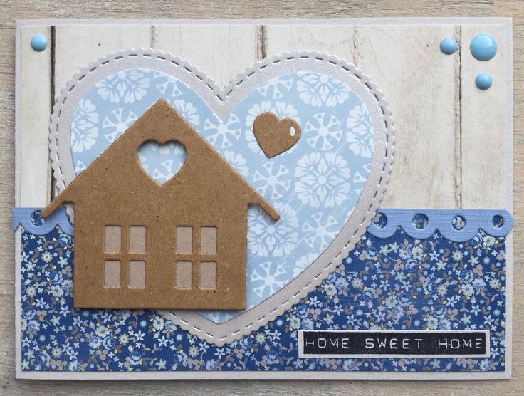 Voor de uitdaging op het blog van Marianne Design wordt een creatie met hartjes gevraagd. Omdat ik echte 'liefdeskaarten' niet (zoveel) v...