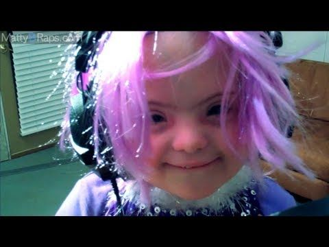 "Sarah Grace Raps ""Sugar Sugar"" by MattyBRaps this little girl is matty's little sister who has special needs but i think she is precious!!"