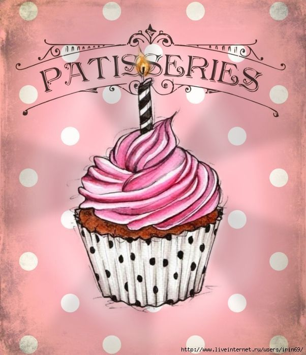 Cupcake Art Vintage : 369 best images about Cupcakes