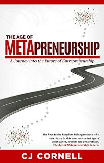 "The Age of Metapreneurship: Author Interview #books #business #startup   https://www.amazon.com/dp/B071XN4GNS   Interview with CJ Cornell Author of The Age of Metapreneurship - A Journey into the Future of Entrepreneurship  The Age of Metapreneurship is definitely not your typical ""How to start a business book"" or success book.What kind of a book is it?  Well it is indeed a book on entrepreneurship but it takes you on a journey from the recent past into the future using stories and examples inst"
